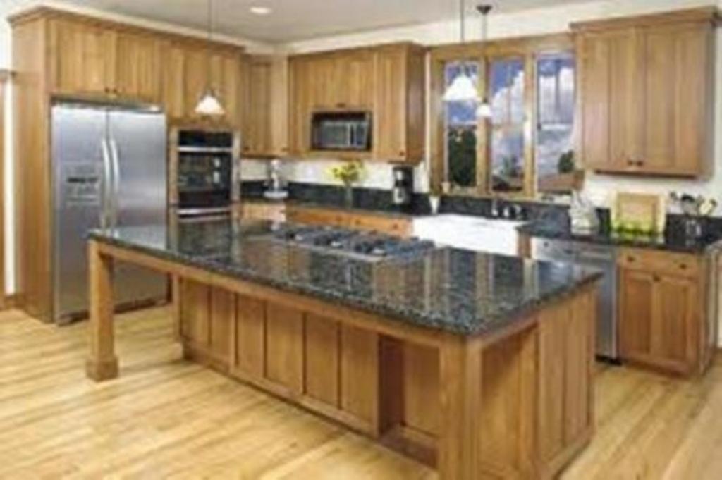 kitchen set dengan meja makan 4