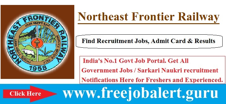 Northeast Frontier Railway Recruitment 2016-17 | Act Apprentice | Cultural Quota Posts Candidate age limit is 18 to 32 years.