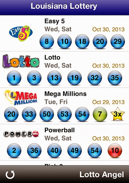 USA Louisiana Lottery Results (Oct 30, 2013)