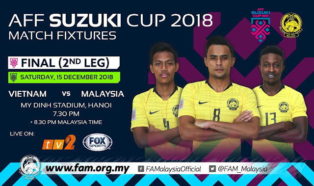 Live Streaming Vietnam vs Malaysia Final AFF Suzuki 15.12.2018