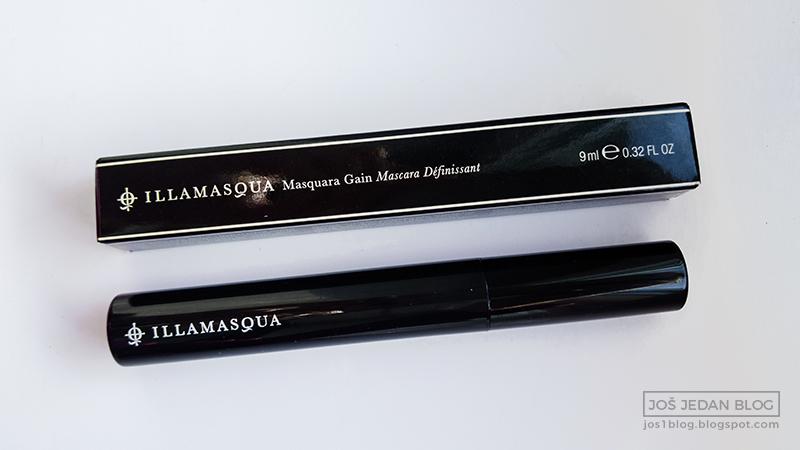 Illamasqua Masquara Gain maskara pakovanje, mascara packaging, review, recenzija, utisci
