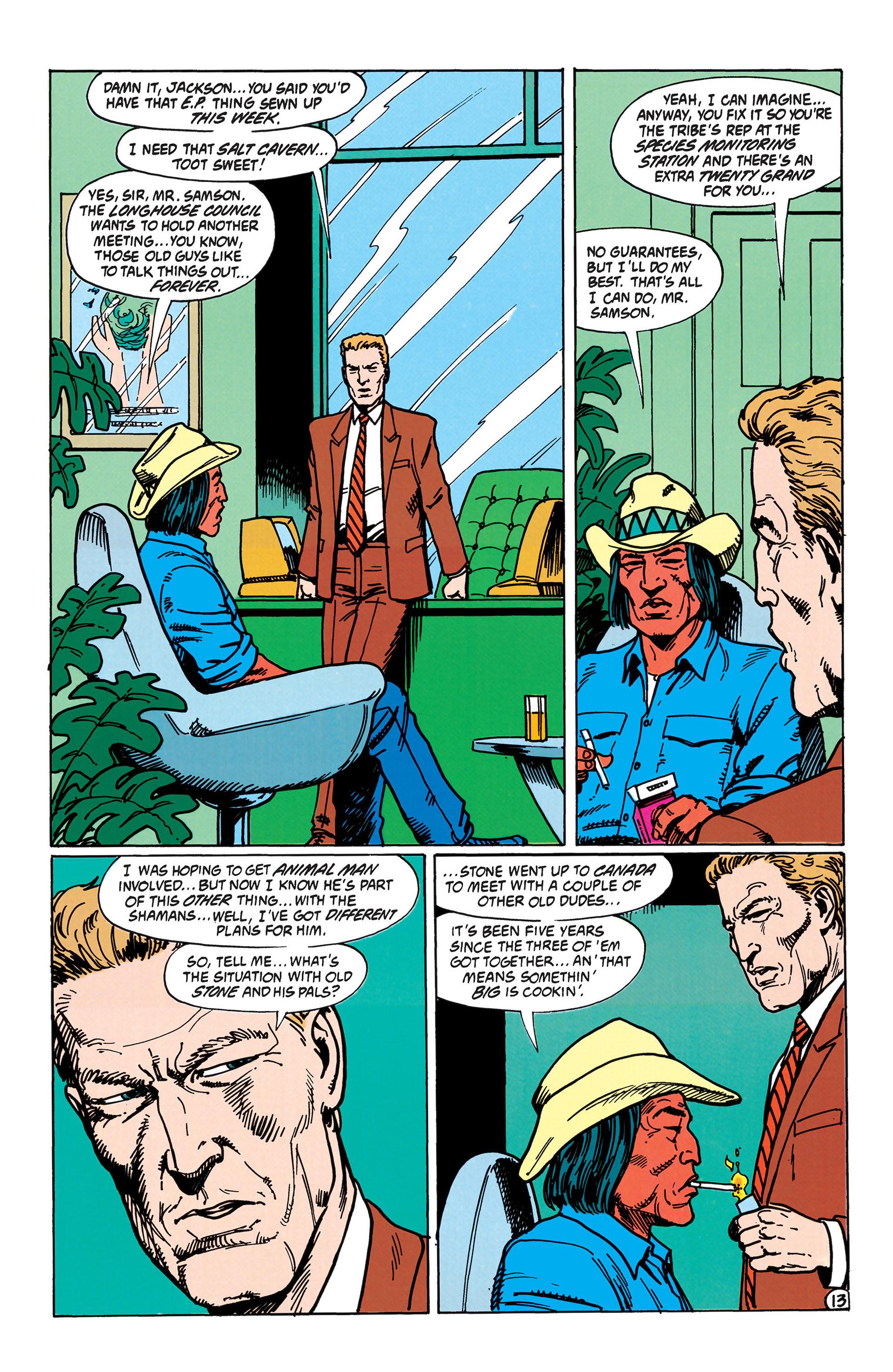 Read online Animal Man (1988) comic -  Issue #43 - 14