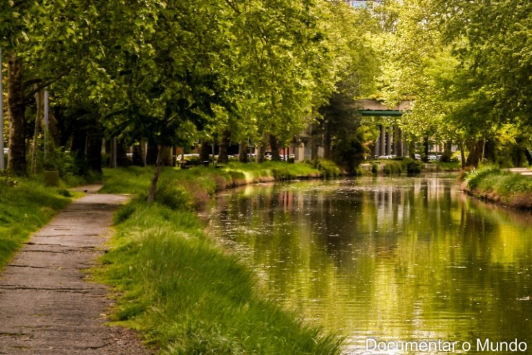 Canal do Midi; parques e jardins de Toulouse