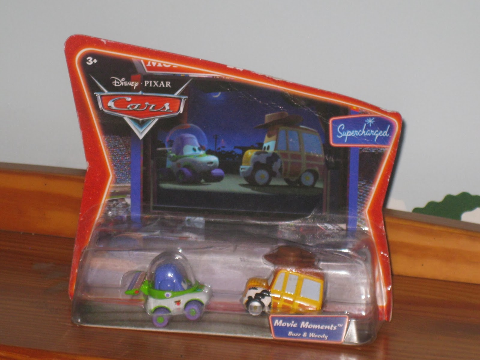 Dan The Pixar Fan Cars Buzz And Woody Movie Moments 2 Pack