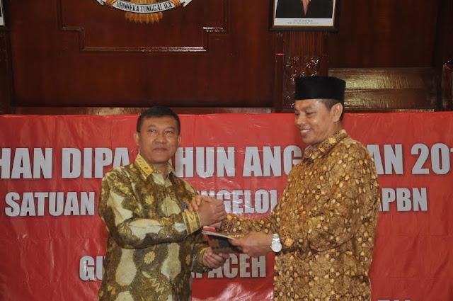 Alokasi DIPA Aceh 2017 Rp 46,7 Triliun