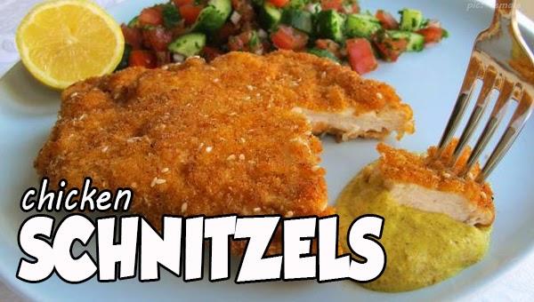 Resep Masakan Praktis Rumahan Indonesia Sederhana Resep Chicken Schnitzel