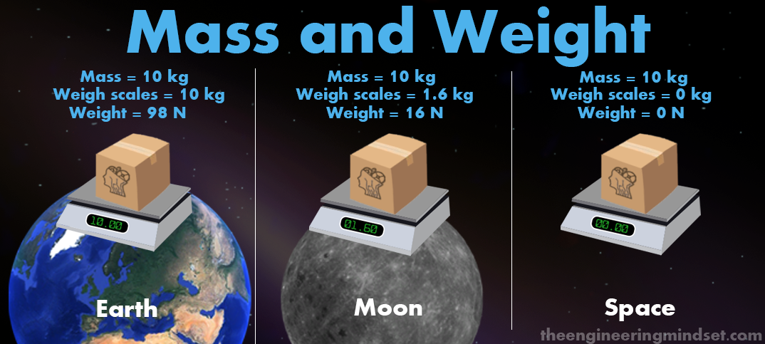 what relationship does mass and weight have