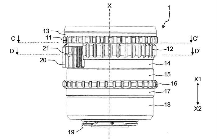 Конструкция объектива, запатентованная компанией Panasonic