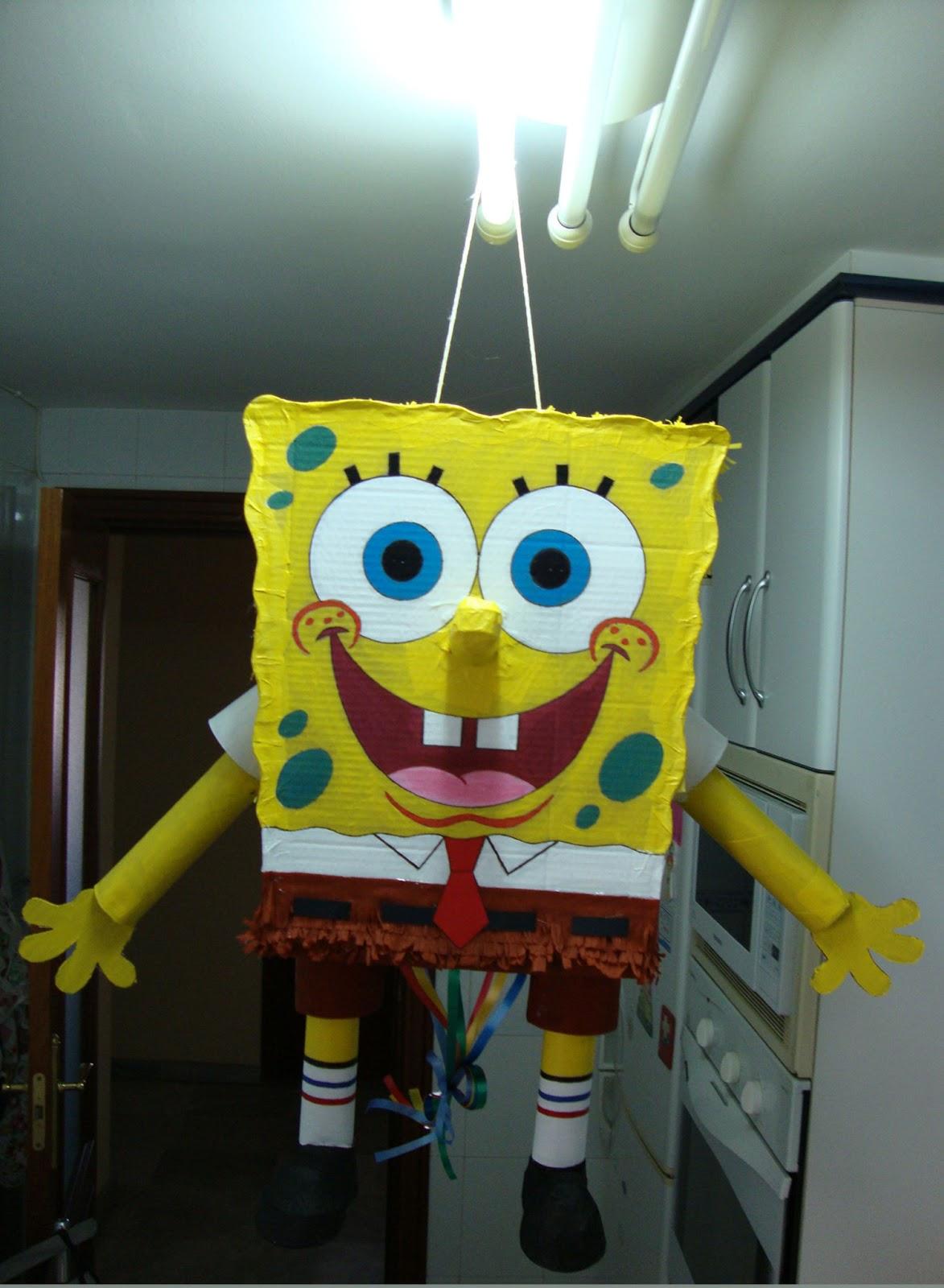 Imágenes De Piñatas De Bob Esponja Imagui