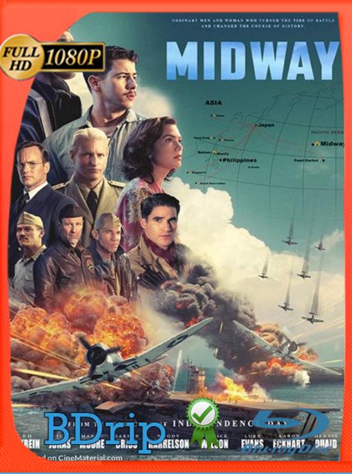 Midway: Ataque en Altamar (2019) BDRip 1080p Latino Luiyi21HD