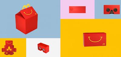 Happy Meal Buat Kotak Makan Yang Dapat Diubah Menjadi VR