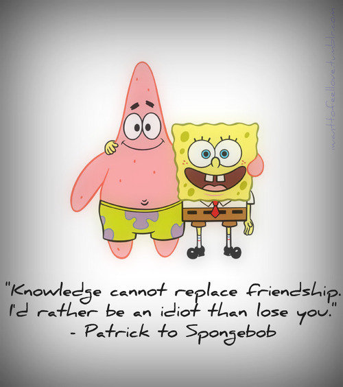 Quotes Patrick Star yang Menginspirasi