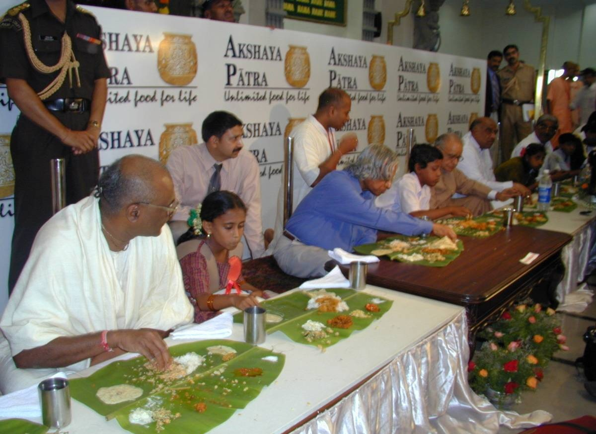 Donate to Akshaya Patra Foundation or ISKCON Fake Gurus