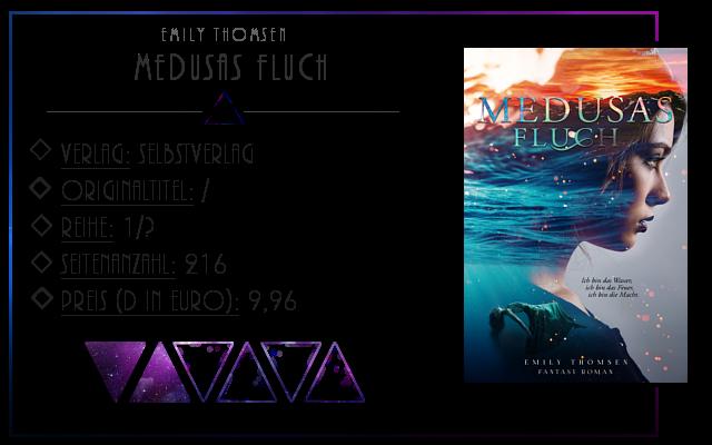 [Rezension] Medusas Fluch - Emily Thomsen