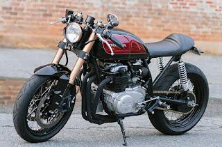 Hasil modifikasi Honda CB100