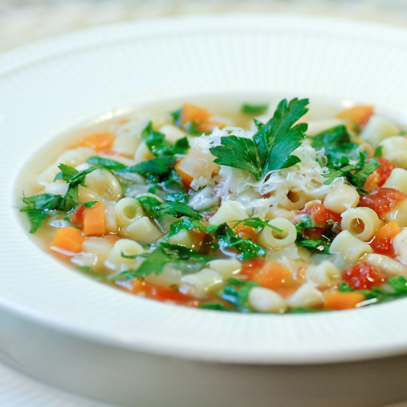 Savoring Time in the Kitchen: Spinach, Pasta e Fagioli Soup