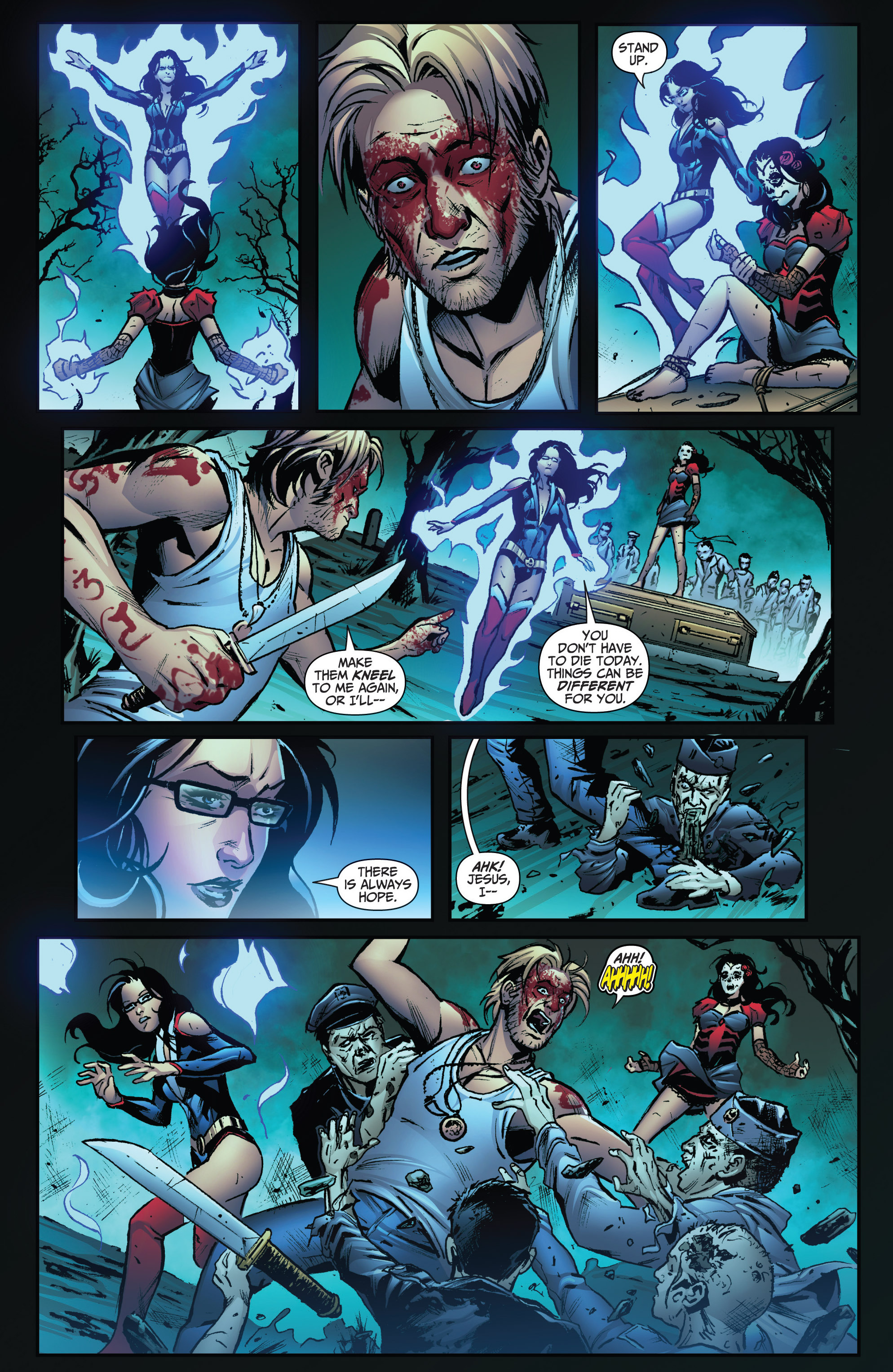 Read online Grimm Fairy Tales: Arcane Acre comic -  Issue # TPB 3 - 46