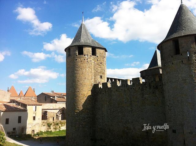 Carcassonne ciudadela y alrededores