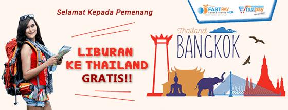 pemenang ke Thailand bersama sentra bisnis fastpay