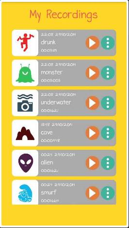 Screenshot_3 Voice Changer Full 1.7 - Fun Android Sound Change Apps