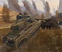 لعبة حرب الدبابات World of Tanks Blitz