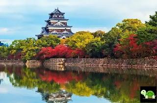 Kastil Hirosima Tokyo Jepang