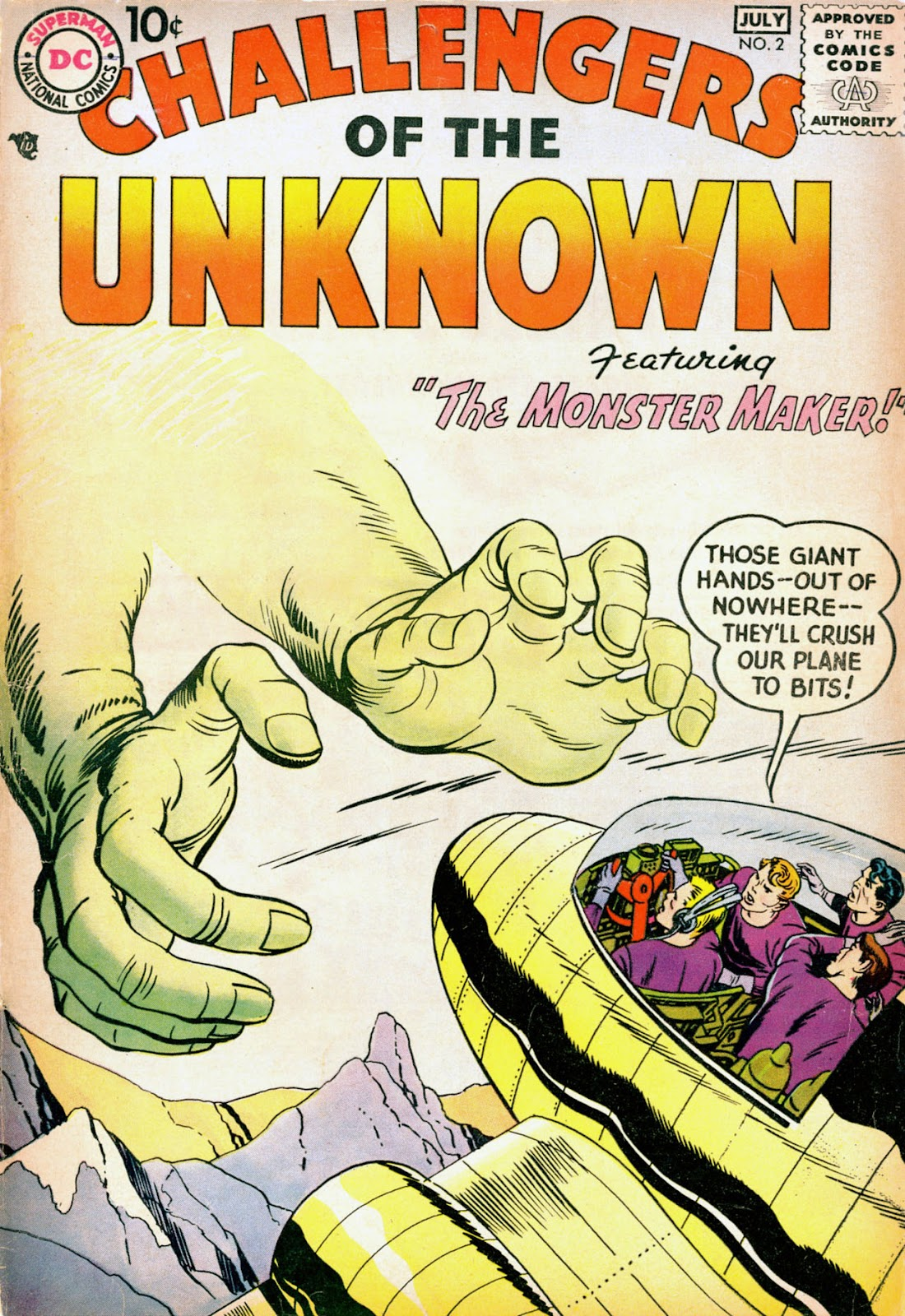 Challengers of the Unknown (1958) issue 2 - Page 1