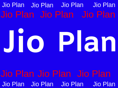Jio Prepaid Plan