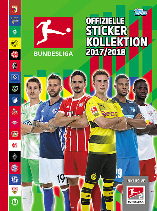 TOPPS Bundesliga 2017//2018 Sticker 251 Josip Brekalo
