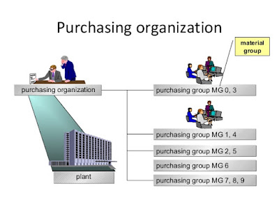 The centralized purchasing organization will accommodate the purchasing requirements for the whole company. For example, if a company has seven plants across the US, the central purchasing organization will be located in one location, and purchase items for all seven plants.