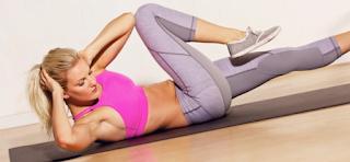 تمارين للبنات في المنزل لتقليل الوزن وشد عضلات الجسم