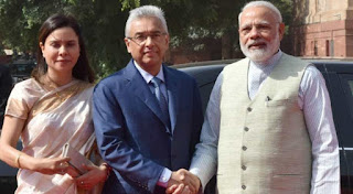 India and Mauritius jointly launched Projects