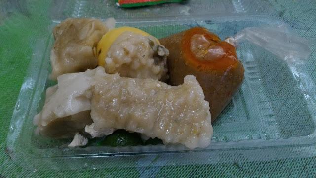 Basu tahu Mang Awan yang dipesan dengan Go Food.