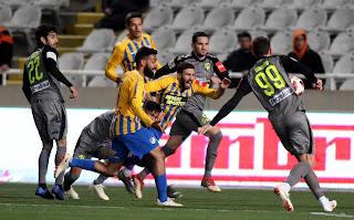 Οι φωτογραφίες του αγώνα κυπέλλου, ΑΠΟΕΛ 1-1 ΑΕΚ, «Ανοικτούς λογαριασμούς..»