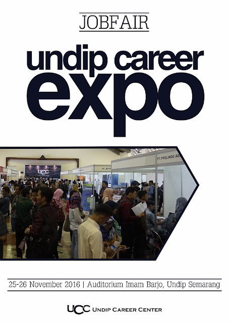 Job Fair Semarang Undip Career Expo – November 2016