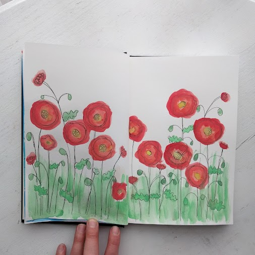 A Peek into my Sketchbook A post shared by Heidi Kindlespire Hillman (@alivelyhope) on Mar 20, 2017 ...