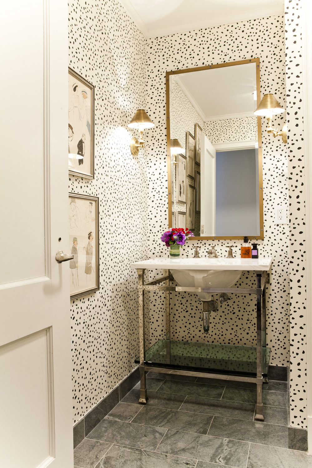 dimples and tangles one room challenge powder bath week 2 lilly bunn interiors via my domaine