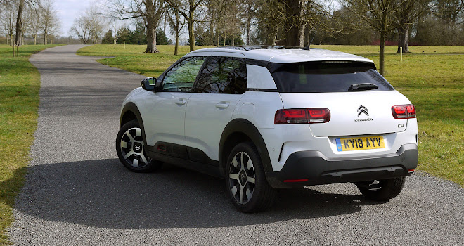 Citroen C4 Cactus 2 rear view