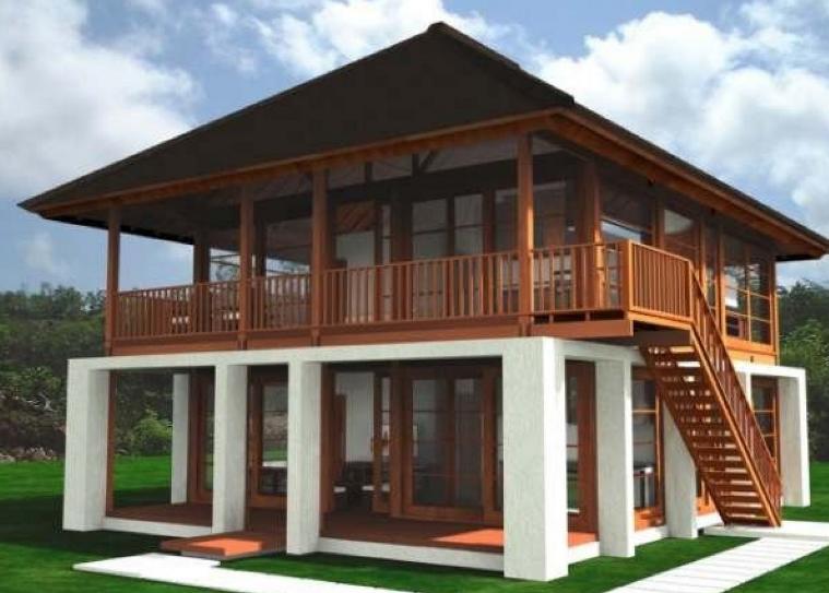 Desain Rumah Kayu & Desain Rumah Kayu Minimalis Sederhana dan Klasik Dengan Nuansa Modern