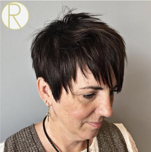 2019 short hairstyles for over 50