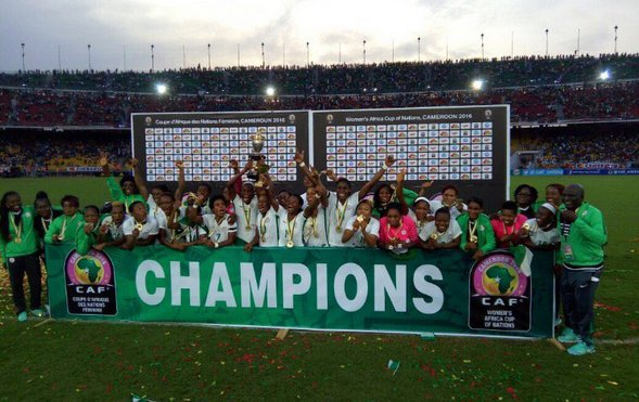 Nigeria Super Falcons win AWCON 2016