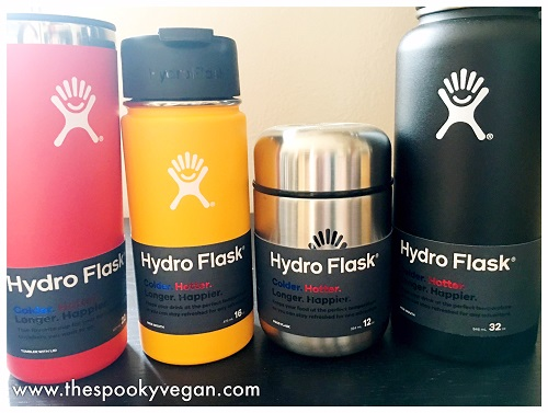 The Spooky Vegan: Product Review: Hydro Flask Insulated
