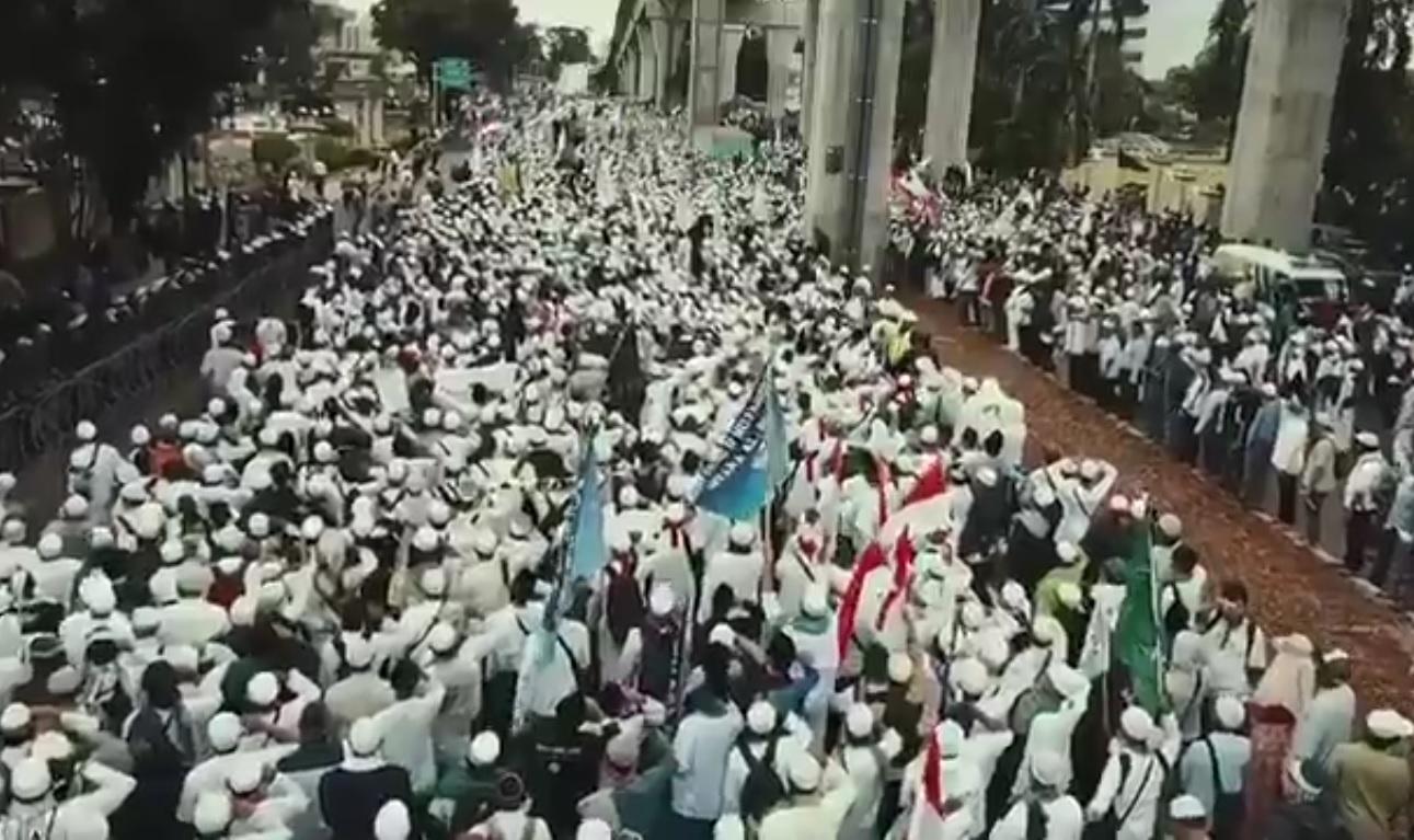 Massa Aksi 161