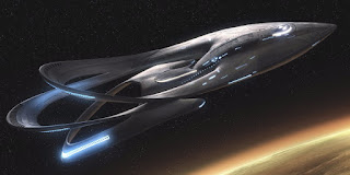 THE ORVILLE in space, on Fox