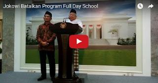 RESMI, Presiden Jokowi Batalkan Program Sekolah 8 Jam Sehari Full Day School