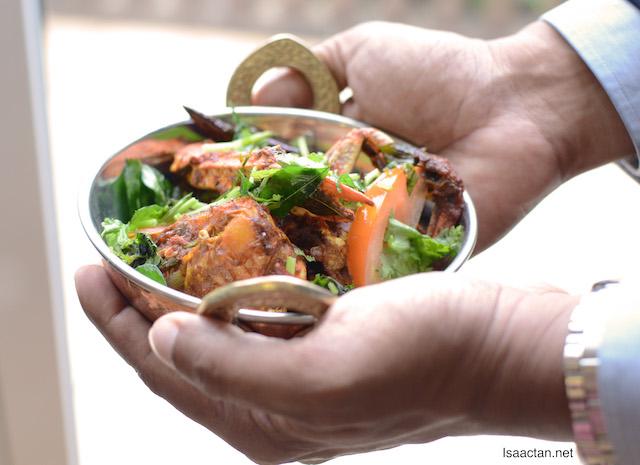 Chettinad Indian Banana Leaf Promotion @ Zest Lifestyle Restaurant, Marriott Putrajaya