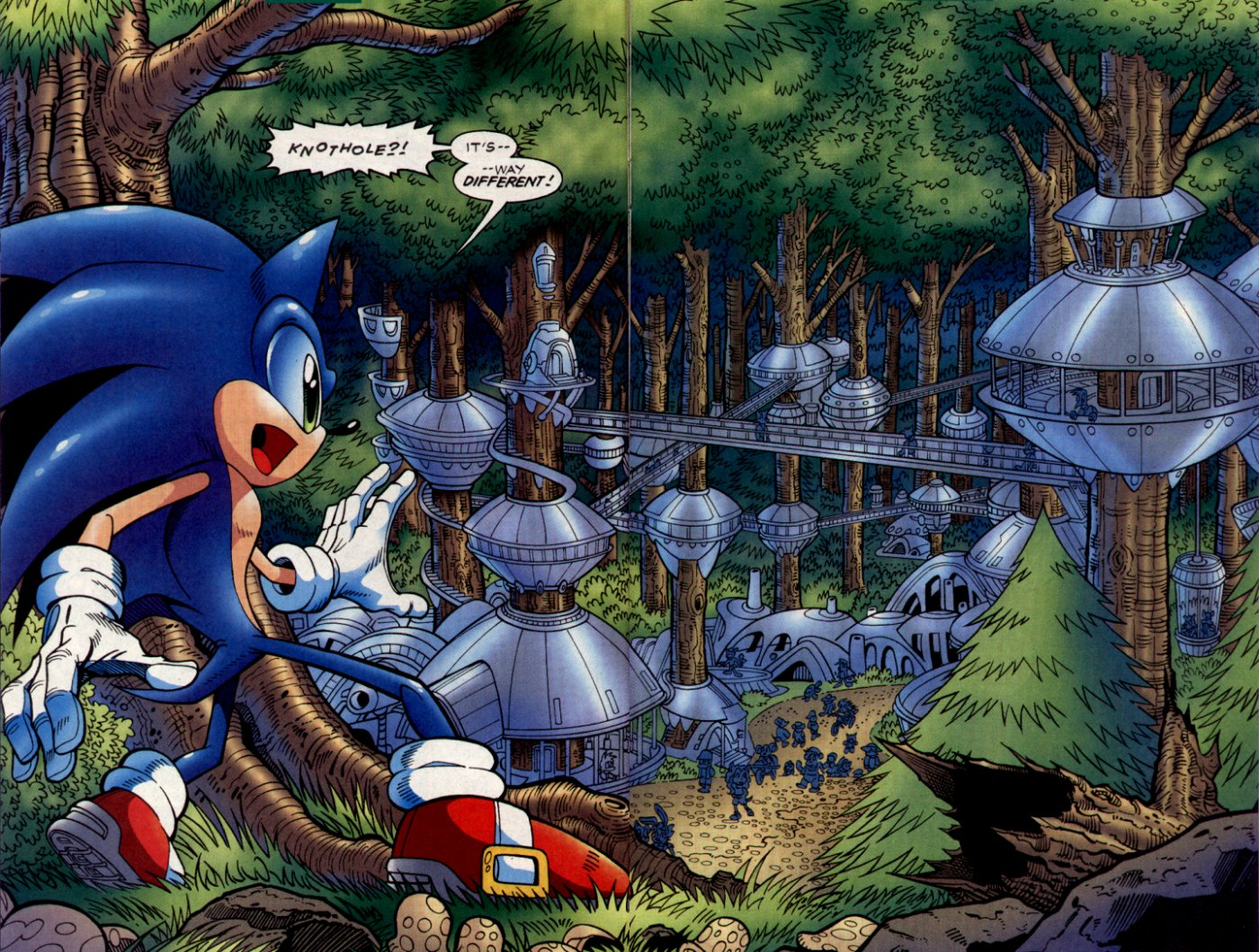 Read online Sonic The Hedgehog comic -  Issue #130 - 12