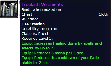 WoW Vanilla : Healing as a Priest