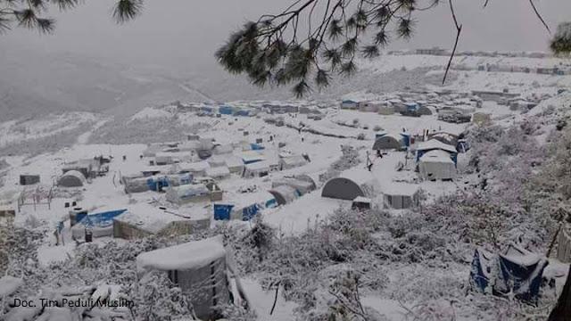 Kondisi Terkini Kamp Pengungsi Suriah Saat Memasuki Musim Dingin 2017