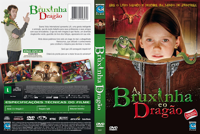 Capa DVD A Bruxinha e o Dragão